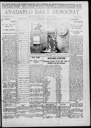 Primary view of object titled 'Anadarko Daily Democrat (Anadarko, Okla.), Vol. 8, No. 314, Ed. 1, Tuesday, February 8, 1910'.