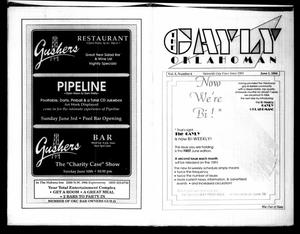 Primary view of The Gayly Oklahoman (Oklahoma City, Okla.), Vol. 8, No. 6, Ed. 1 Friday, June 1, 1990