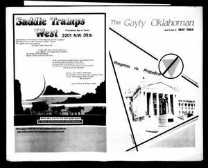 Primary view of The Gayly Oklahoman (Oklahoma City, Okla.), Vol. 2, No. 5, Ed. 1 Tuesday, May 1, 1984