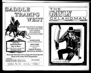 Primary view of The Gayly Oklahoman (Oklahoma City, Okla.), Vol. 5, No. 8, Ed. 1 Saturday, August 1, 1987