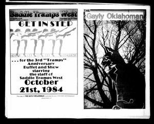 Primary view of The Gayly Oklahoman (Oklahoma City, Okla.), Vol. 2, No. 10, Ed. 1 Monday, October 1, 1984