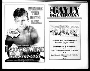 Primary view of object titled 'The Gayly Oklahoman (Oklahoma City, Okla.), Vol. 11, No. 17, Ed. 1 Wednesday, September 1, 1993'.