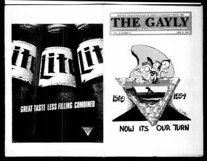 Primary view of object titled 'The Gayly Oklahoman (Oklahoma City, Okla.), Vol. 12, No. 12, Ed. 1 Wednesday, June 15, 1994'.