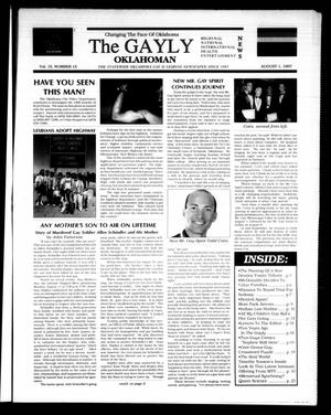 Primary view of object titled 'The Gayly Oklahoman (Oklahoma City, Okla.), Vol. 15, No. 15, Ed. 1 Friday, August 1, 1997'.