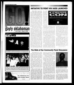 Primary view of The Gayly Oklahoman (Oklahoma City, Okla.), Vol. 21, No. 2, Ed. 1 Wednesday, January 15, 2003
