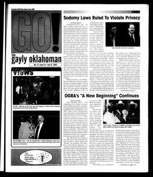 Primary view of The Gayly Oklahoman (Oklahoma City, Okla.), Vol. 21, No. 14, Ed. 1 Tuesday, July 15, 2003
