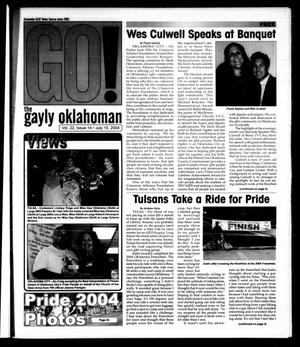 Primary view of object titled 'The Gayly Oklahoman (Oklahoma City, Okla.), Vol. 22, No. 14, Ed. 1 Thursday, July 15, 2004'.