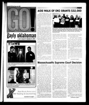 Primary view of The Gayly Oklahoman (Oklahoma City, Okla.), Vol. 21, No. 24, Ed. 1 Monday, December 15, 2003