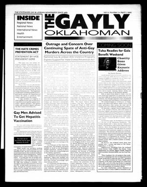 Primary view of object titled 'The Gayly Oklahoman (Oklahoma City, Okla.), Vol. 17, No. 7, Ed. 1 Thursday, April 1, 1999'.