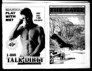 Primary view of The Gayly Oklahoman (Oklahoma City, Okla.), Vol. 14, No. 2, Ed. 1 Monday, January 15, 1996