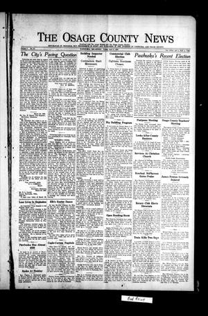 Primary view of object titled 'The Osage County News (Pawhuska, Okla.), Vol. 7, No. 31, Ed. 1 Friday, April 9, 1920'.