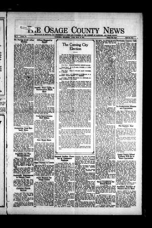 Primary view of object titled 'The Osage County News (Pawhuska, Okla.), Vol. 8, No. 29, Ed. 1 Friday, March 18, 1921'.