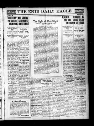 Primary view of object titled 'The Enid Daily Eagle (Enid, Okla.), Vol. 14, No. 352, Ed. 1 Friday, December 24, 1915'.