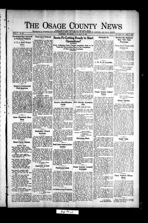 Primary view of object titled 'The Osage County News (Pawhuska, Okla.), Vol. 7, No. 28, Ed. 1 Friday, March 19, 1920'.