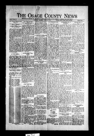 Primary view of object titled 'The Osage County News (Pawhuska, Okla.), Vol. 8, No. 46, Ed. 1 Friday, July 15, 1921'.