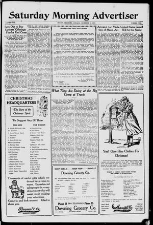 Primary view of object titled 'Saturday Morning Advertiser (Durant, Okla.), Vol. 5, No. 4, Ed. 1, Saturday, December 15, 1917'.