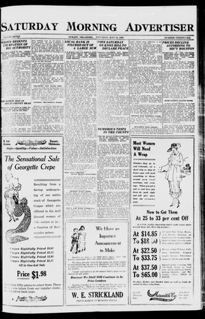Primary view of object titled 'Saturday Morning Advertiser (Durant, Okla.), Vol. 7, No. 26, Ed. 1, Saturday, May 15, 1920'.
