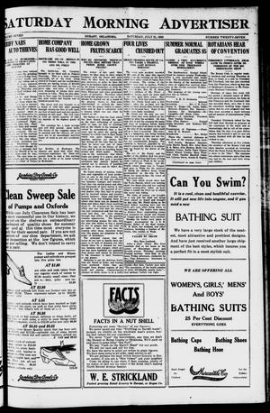 Primary view of object titled 'Saturday Morning Advertiser (Durant, Okla.), Vol. 7, No. 27, Ed. 1, Saturday, July 31, 1920'.