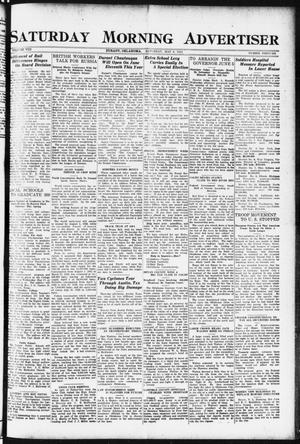 Primary view of object titled 'Saturday Morning Advertiser (Durant, Okla.), Vol. 8, No. 46, Ed. 1, Saturday, May 6, 1922'.