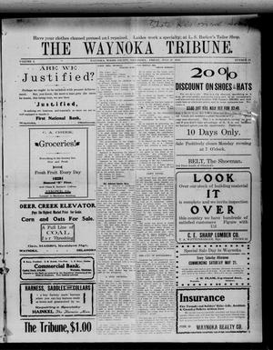 Primary view of object titled 'The Waynoka Tribune. (Waynoka, Okla.), Vol. 2, No. 23, Ed. 1 Friday, July 22, 1910'.