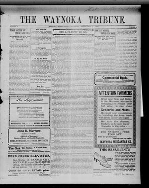 Primary view of object titled 'The Waynoka Tribune. (Waynoka, Okla.), Vol. 2, No. 6, Ed. 1 Friday, March 11, 1910'.