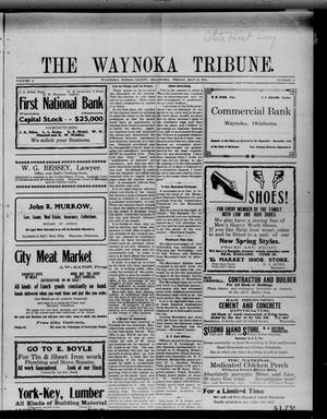 Primary view of object titled 'The Waynoka Tribune. (Waynoka, Okla.), Vol. 3, No. 14, Ed. 1 Friday, May 12, 1911'.