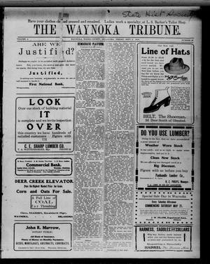 Primary view of object titled 'The Waynoka Tribune. (Waynoka, Okla.), Vol. 2, No. 27, Ed. 1 Friday, September 2, 1910'.