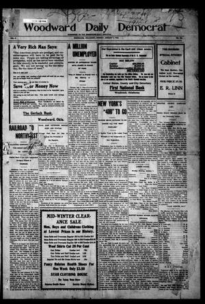 Primary view of object titled 'Woodward Daily Democrat (Woodward, Okla.), Vol. 2, No. 103, Ed. 1 Monday, January 3, 1910'.