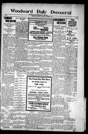 Primary view of object titled 'Woodward Daily Democrat (Woodward, Okla.), Vol. 2, No. 54, Ed. 1 Thursday, November 4, 1909'.