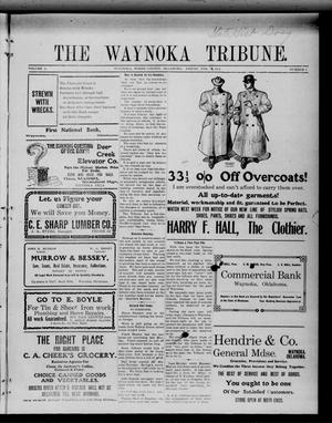 Primary view of object titled 'The Waynoka Tribune. (Waynoka, Okla.), Vol. 3, No. 1, Ed. 1 Friday, February 10, 1911'.