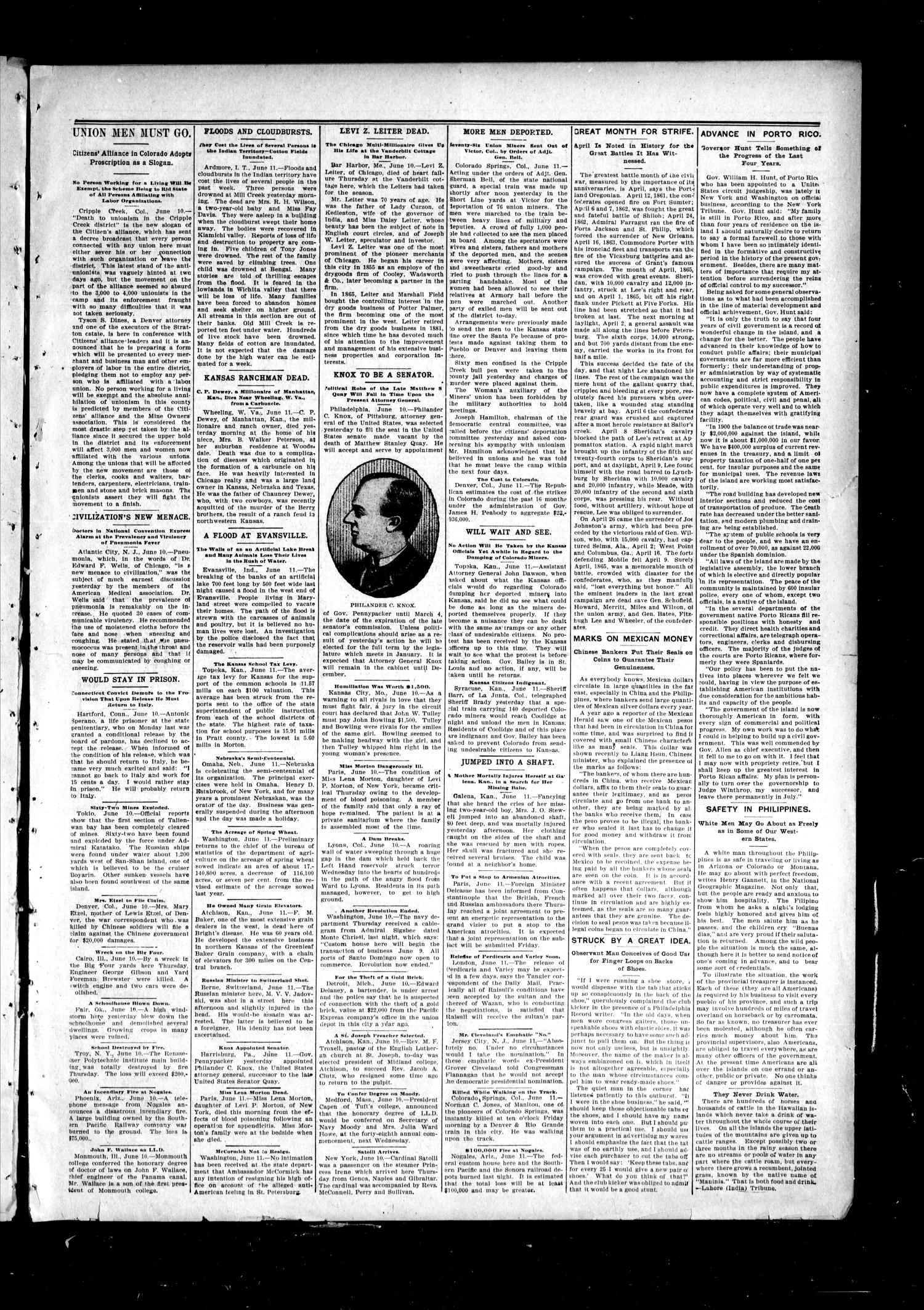 The Fairview Republican. (Fairview, Okla.), Vol. 4, No. 38, Ed. 1 Friday, June 17, 1904                                                                                                      [Sequence #]: 3 of 8