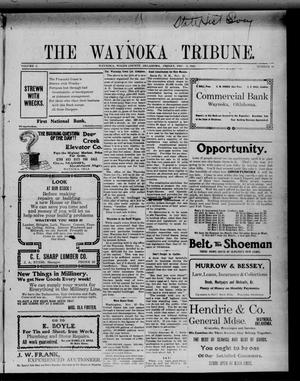 Primary view of object titled 'The Waynoka Tribune. (Waynoka, Okla.), Vol. 2, No. 40, Ed. 1 Friday, December 2, 1910'.