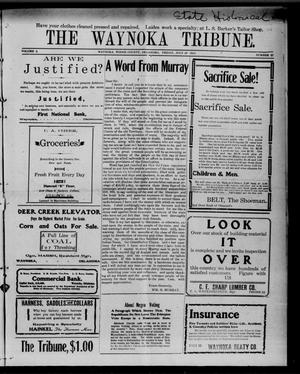 Primary view of object titled 'The Waynoka Tribune. (Waynoka, Okla.), Vol. 2, No. 27, Ed. 1 Friday, July 29, 1910'.