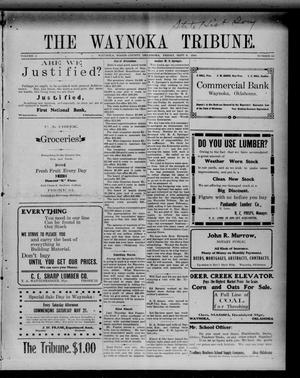 Primary view of object titled 'The Waynoka Tribune. (Waynoka, Okla.), Vol. 2, No. 28, Ed. 1 Friday, September 9, 1910'.