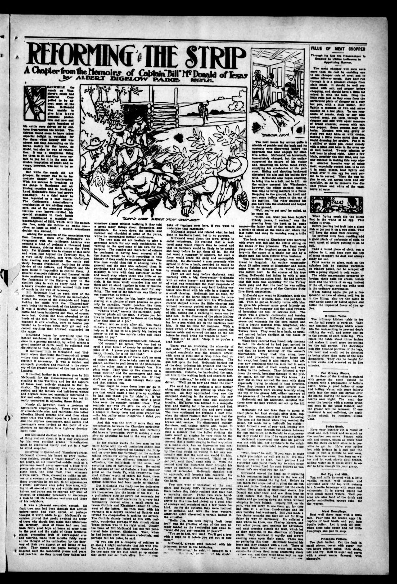 Woodward Daily Democrat (Woodward, Okla.), Vol. 2, No. 163, Ed. 1 Tuesday, March 15, 1910                                                                                                      [Sequence #]: 3 of 4