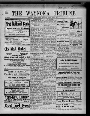 Primary view of object titled 'The Waynoka Tribune. (Waynoka, Okla.), Vol. 3, No. 36, Ed. 1 Friday, October 13, 1911'.