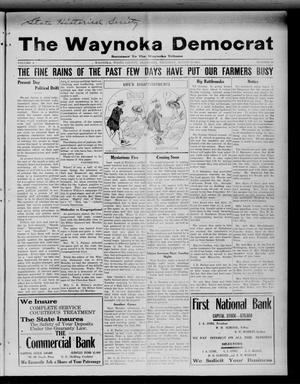 Primary view of object titled 'The Waynoka Democrat (Waynoka, Okla.), Vol. 4, No. 28, Ed. 1 Thursday, August 15, 1912'.