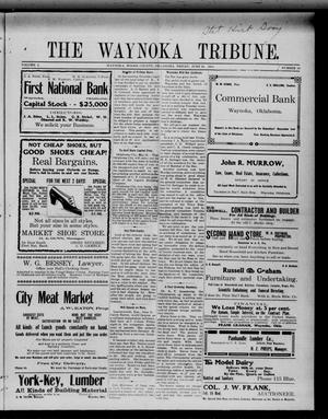 Primary view of object titled 'The Waynoka Tribune. (Waynoka, Okla.), Vol. 3, No. 19, Ed. 1 Friday, June 16, 1911'.