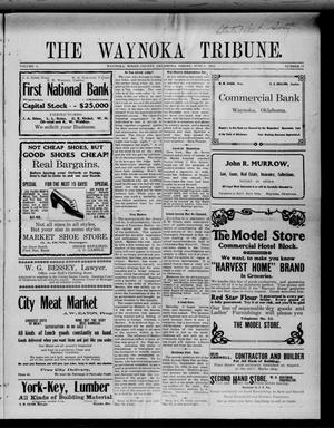 Primary view of object titled 'The Waynoka Tribune. (Waynoka, Okla.), Vol. 3, No. 17, Ed. 1 Friday, June 2, 1911'.