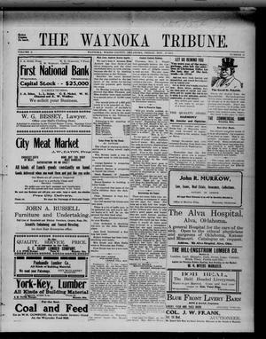 Primary view of object titled 'The Waynoka Tribune. (Waynoka, Okla.), Vol. 3, No. 41, Ed. 1 Friday, November 17, 1911'.