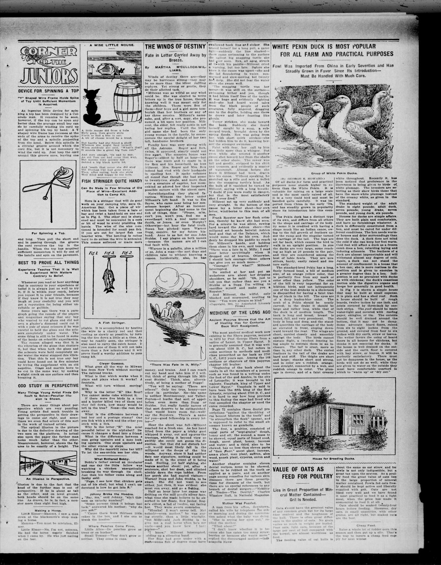 The Waynoka Democrat (Waynoka, Okla.), Vol. 4, No. 31, Ed. 1 Thursday, September 5, 1912                                                                                                      [Sequence #]: 3 of 8