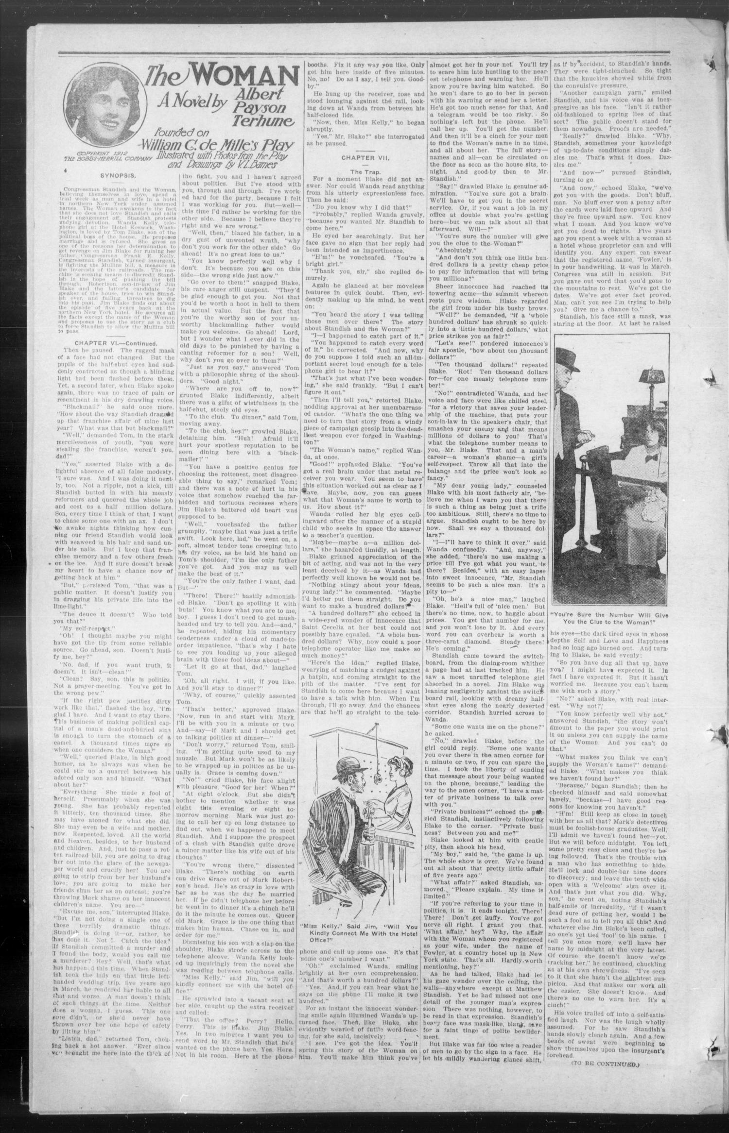 The Wanette Enterprise (Wanette, Okla.), Vol. 3, No. 22, Ed. 1 Friday, October 24, 1913                                                                                                      [Sequence #]: 4 of 8
