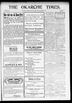 Primary view of The Okarche Times. (Okarche, Okla.), Vol. 18, No. 33, Ed. 1 Friday, December 17, 1909