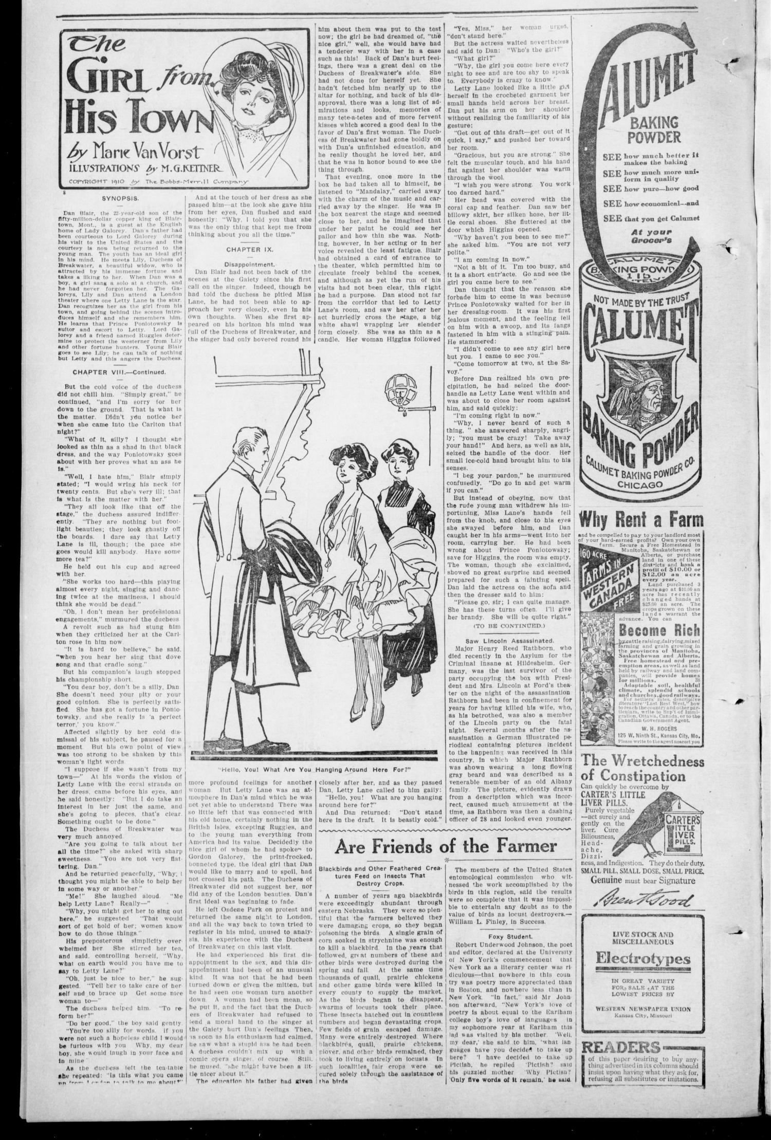 South Pottawatomie Progress. (Asher, Okla.), Vol. 1, No. 45, Ed. 1 Thursday, January 25, 1912                                                                                                      [Sequence #]: 2 of 8