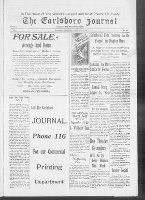 Primary view of object titled 'The Earlsboro Journal (Earlsboro, Okla.), Vol. 4, No. 46, Ed. 1 Friday, September 19, 1930'.