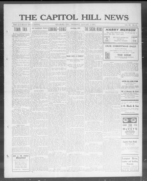Primary view of object titled 'The Capitol Hill News (Oklahoma City, Okla.), Vol. 9, No. 16, Ed. 1 Thursday, January 1, 1914'.