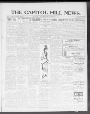 Primary view of object titled 'The Capitol Hill News. (Oklahoma City, Okla.), Vol. 8, No. 52, Ed. 1 Thursday, September 11, 1913'.
