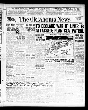 Primary view of The Oklahoma News (Oklahoma City, Okla.), Vol. 11, No. 148, Ed. 1 Tuesday, March 20, 1917