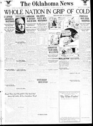 Primary view of object titled 'The Oklahoma News (Oklahoma City, Okla.), Vol. 12, No. 91, Ed. 1 Saturday, January 12, 1918'.