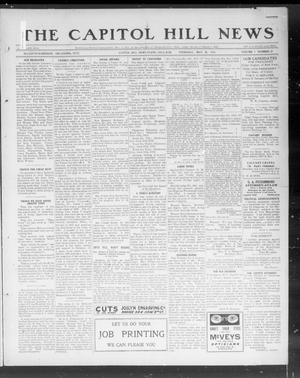 Primary view of object titled 'The Capitol Hill News (Capitol Hill, Okla.), Vol. 7, No. 37, Ed. 1 Thursday, May 30, 1912'.